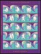 GROENLAND VIGN. DE NOEL 1988 Lueur d'aurore polaire á Noel