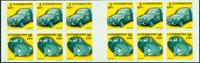 Luxembourg - Biler - Postfrisk hæfte