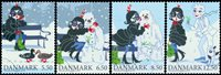 Denmark - Christmas - Mint set 4v