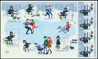 Denmark - Winter - Mint sheetlet