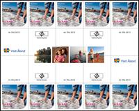 Åland - Europa 2012 - Gutter de 10 timbres neufs