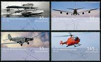 Tyskland - Fly - Postfrisk sæt 4v