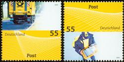 Allemagne - Poste '09 - Série neuve 2v