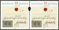 Allemagne - Journée du timbre '09 - Série neuve 2v