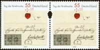 Tyskland - Frimærkets dag - Postfrisk parstykke