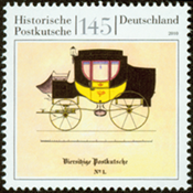 Germany - Stagecoach - Mint stamp