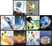Tyskland - Sportsvelgørenhed - Postfrisk sæt 5v