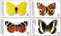 Allemagne - Papillons - Série neuve 4v
