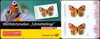 Tyskland - Sommerfugle - Postfrisk frimærkerhæfte