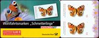 Allemagne - Papillons - Carnet adhésif