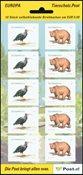 Itävalta - eläimiä - Postituore blokki