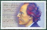 Autriche - Gustav Mahler - Série neuve 1v
