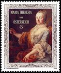 Østrig - Maria Theresia - Postfrisk frimærke