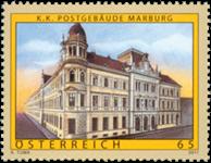 Østrig - Postkontor Marburg - Postfrisk frimærke