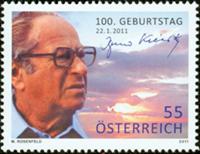Østrig - Bruno Kreisky - Postfrisk frimærke