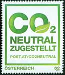 Autriche - La Poste est neutre en Co2 - Timbre neuf