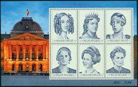 Belgien - Dronninger - Postfrisk miniark