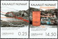 Greenland - Mining - Mint set 2v