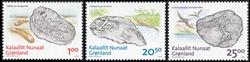 Groenland - Fossils - Série neuve 3v