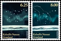 Groenland - Europa - Astronomie 2009 - Série neuve 2v