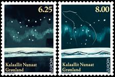 Grønland - Europa'09 - Postfrisk sæt 2v