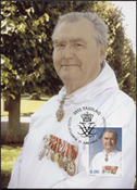 Groenland - Prince Henri 75 ans - Cartes Maximum