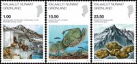Grønland - Videnskab V - Postfrisk sæt 3v