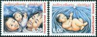 Groenland - Kerstzegels '09 - Postfrisse set van 2