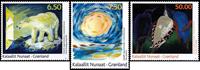 Groenland - Art moderne IV '10 - Série neuve 3v