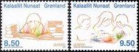 Grønland - Europa 2010 - Postfrisk sæt 2v
