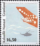 Groenland - Air Greenland '10 - Timbre neuf