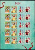 Aaland - Vignettes de Noël 2007 - Vignettes de Noël