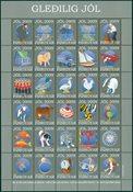 Færøerne - Juleark 2009 - Julemærkeark 2009