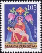 Ungarn - Påsken 2012 - Postfrisk frimærke