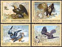 Hongrie - Oiseaux - Série neuve 4v