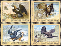 Hungary - Birds - Mint set 4v