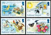 Îles Falkland - Contes Andersen - Série neuve 4v