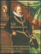 Liechtenstein - Karl I Liechtenstein - Bloc-feuillet neuf