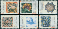 Madère -  Azulejos - Série neuve 6v