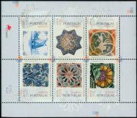 Madère -  Azulejos - Bloc-feuillet neuf