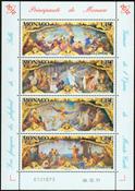 Monaco - Opera Garnier Frescoes - Mint Souvenir sheet