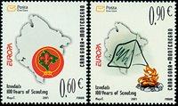 Montenegro - Europa 07, Scoutisme - Série neuve 2v