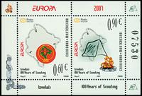 Montenegro - Europa 2007 - Postfrisk miniark