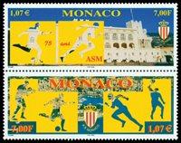 Monaco - 75ans org. sportive - 2v neuve