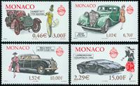 Monaco - Voitures de collection - Série neuve 4v