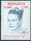 Monaco - Prinsesse Stephanie - Postfrisk frimærke