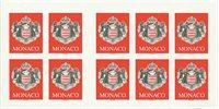 Monaco - Våbenskjold - Postfrisk frimærkehæfte