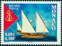 Monaco - Skibsmuseum (1) * - Postfrisk frimærke