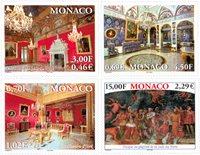 Monaco - Palais princier - Série neuve 4v