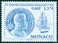 Monaco - Muee Océanographique - Timbre neuf